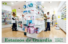 Guardias en abril de Farmacia Los Andenes
