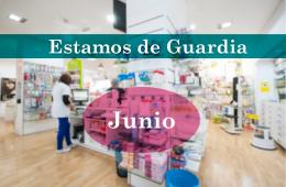 Guardias Junio Farmacia Los Andenes