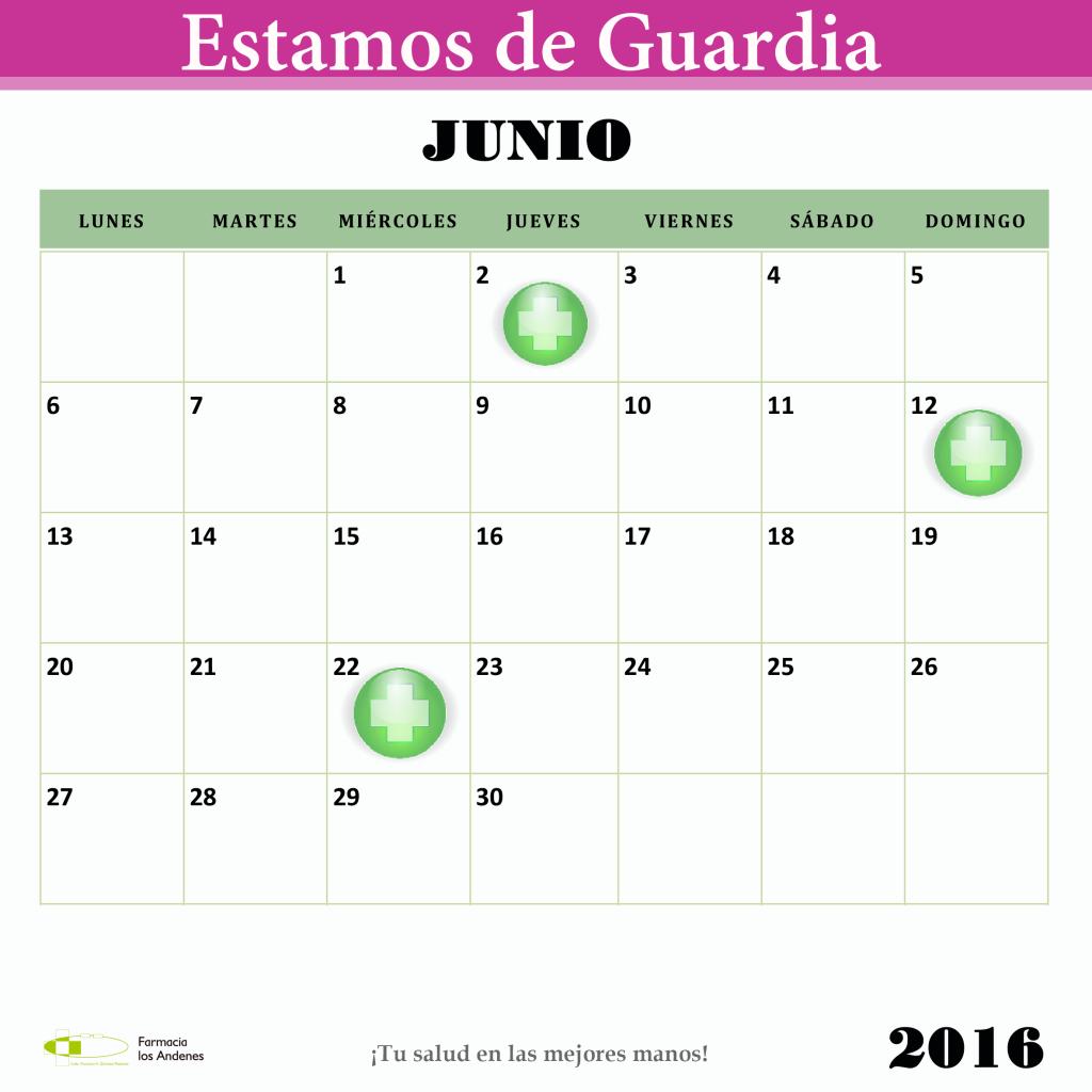 Estamos de Guardia Junio  2016