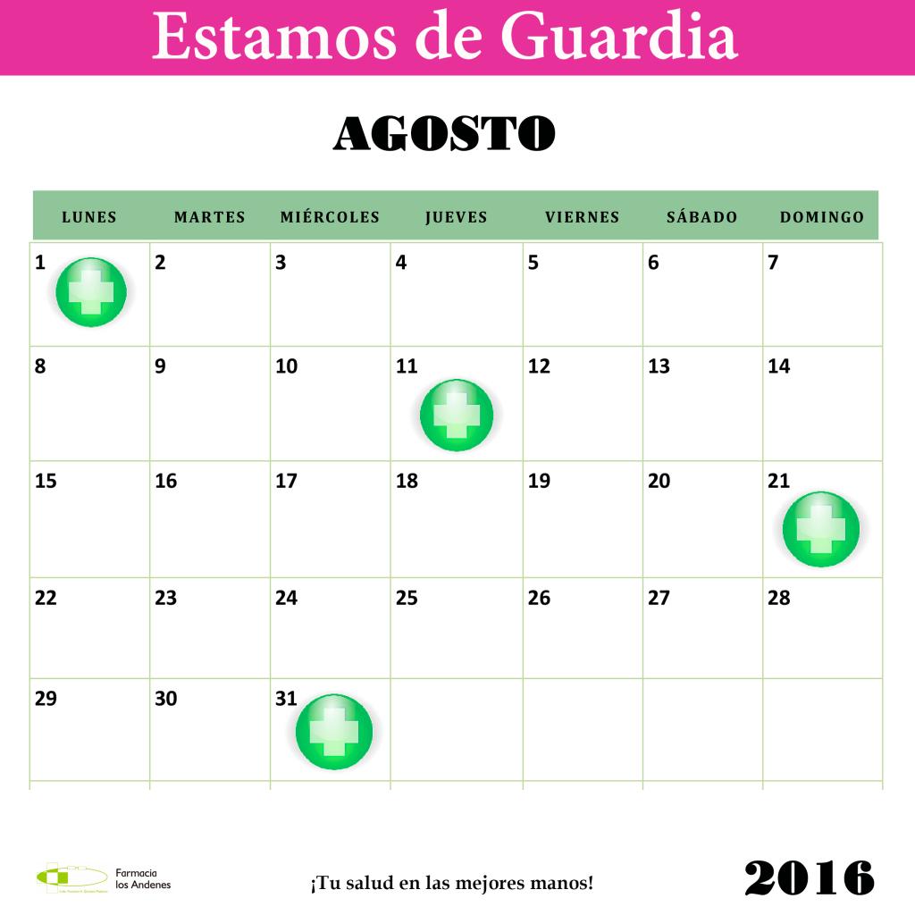 Farmacia los andenes guardias para el mes de agosto - Farmacia guardia puerto del rosario ...